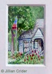 House original dollhouse miniature painting artistjillian Georgia